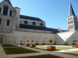 Le cloître restauré, inauguré l'automne dernier.