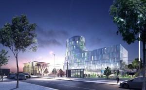 Le nouveau quartier d'affaires Gare de Mulhouse, sur un îlot conçu par l'architecte Nicolas Michelin.