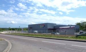 2500 m2 dédiés à la peinture par procédé électrostatique.