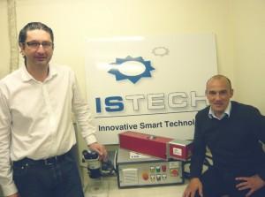 Bertrand Dodane et Pascal Germain, codirgeants d'Istech.