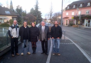 L'équipe alsacienne de LPI.