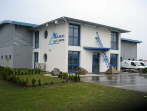 Les bureaux et ateliers de Sime à Cernay.