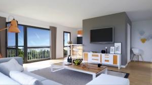 La modularité des logements permet d'adapter les capacités d'investissement des acquéreurs.