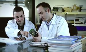 Le département R&D de BSE où travaillent une dizaine d'ingénieurs et techniciens.