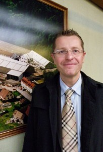 Laurent Aubriot, directeur de l'usine.