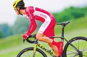 Le dernier né des vélos Look qu'utilisera l'équipe Cofidis sur le Tour de France.