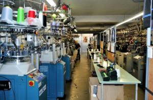 L'entreprise Monnet exploite 30 métiers à tricoter parmi les plus performants du marché.