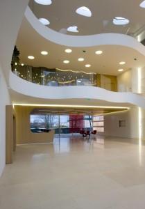 Le nouveau bâtiment livré fin 2011. Architectes : Maryam Ashford-Brown et Richard Lang.