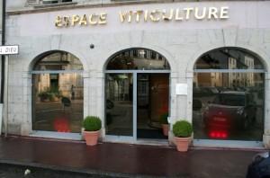 L'espace viticulture de la Caisse d'Épargne de Bourgogne Franche-Comté à Beaune (Côte-d'Or) a ouvert en 2010.