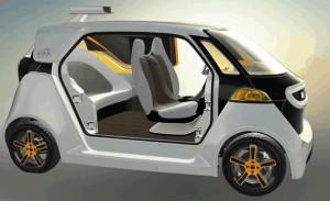 Le concept car sans chauffeur imaginé par Akka Technologies.