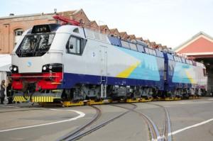 La locomotive kazakhe pour laquelle Akka Technologies a travaillé sur le poste de pilotage et les armoires électriques.