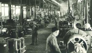 Les ateliers de Pinette au début du siècle dernier.