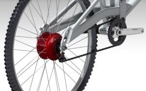 Première application du variateur de vitesse en continu : le vélo.