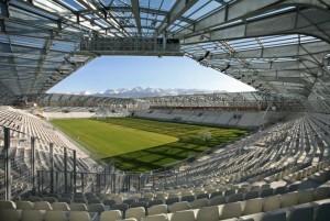 Le stade de Grenoble, un des références de CTE.