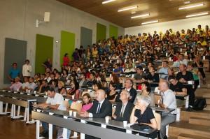 Une majorité de filles dans la nouvelle promotion de l'école de chimie de Mulhouse.