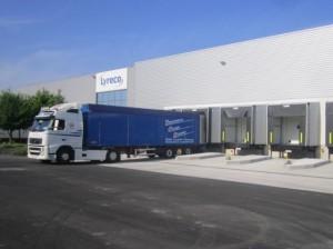 De nombreuses plates-formes logistiques s'implantent en Bourgogne.