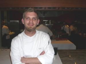 Gregory Czarnecki, chef du restaurant du domaine Waterkloof à Somerset West.