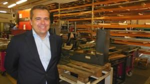 Vincent Ossola, lauréat de la promotion 2011, a repris Alsace Tôlerie à Colmar en 2011 et embauché depuis 6 personnes.