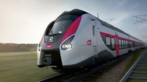 Le nouveau train de grande ligne d'Alstom, baptisé Coradia Liner.