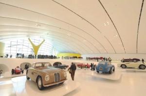 Le musée Ferrari. (Photo : Michaël Maheux)