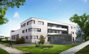 Usitech, 2200 m2 de bureaux et d'ateliers locatifs construits par Aktya. Crédit : Lamboley Architectes Office