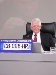 Charles Buttner, président du conseil général du Haut-Rhin.