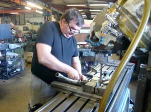 Provéa réalise des équipements spécifiques pour les fabricants de tubes.