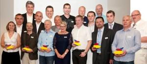 Les lauréats de la promotion 2012.