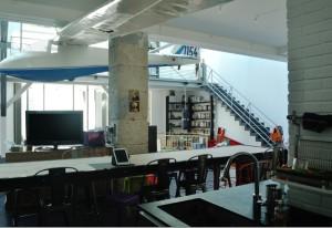 Transformation d'un atelier d'artiste en logement.  Photo : Atelier Calc