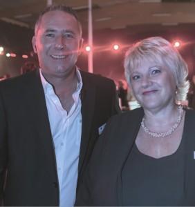 Michèle Préau et Christophe Ghidinelli, codirigeants des Bâtisseurs Bourguignons.