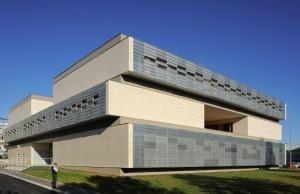 La maison des sciences de l'homme sur le campus universitaire. Phoo : Erick Saillet.