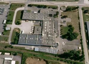 L'ancien site Philips de Dijon s'étend sur 12 000 m2 couverts.