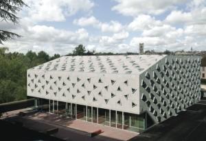 La salle des musiques actuelles d'Auxerre.  Photo : Jean-Marie Monthiers.