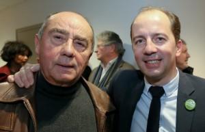 Louis Bidault, à gauche, fondateur de TEB, et son fils Stéphane, l'actuel président.