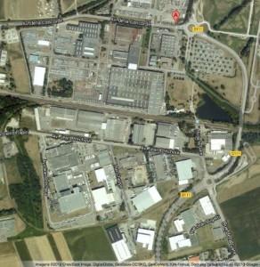 Le site de Lohr à Duppigheim. (Image Google)