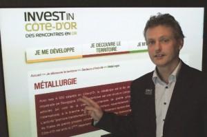 Vincent Stenger défend une Côte-d'Or industrielle qui offre de très nombreuses opportunités professionnelles.