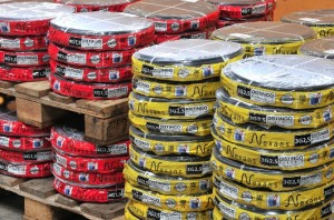 Nexans Autun produit 50 000 tonnes de câbles par an, dont 30 000 tonnes à la marque Distingo.