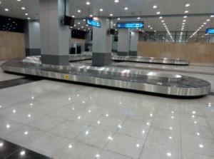 Le carrousel de l'aéroport de Constantine, troisième ville d'Algérie, signé Matrex.