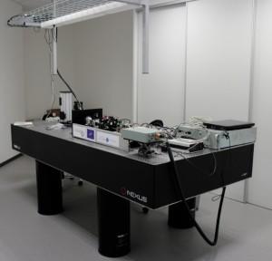 Démonstrateur Weeelibs-V1 du laboratoire optique, du CRITT Matériaux Alsace.