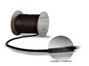 L'une des deux innovations de Nexans Autun. Ici le double repérage métrique.
