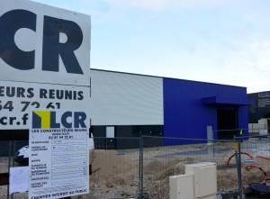 1.Les nouveaux locaux encore en chantier : le déménagement est prévu en mars.