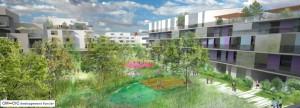 La reconversion de la caserne Vauban avec 800 logements et parc d'un hectare