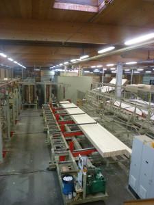 Chaîne de production de bois contre-collé