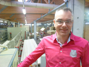 Frédéric Tissot , directeur commercial de Pro Lignium