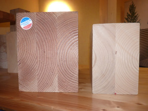 Poutres de bois contre-collé