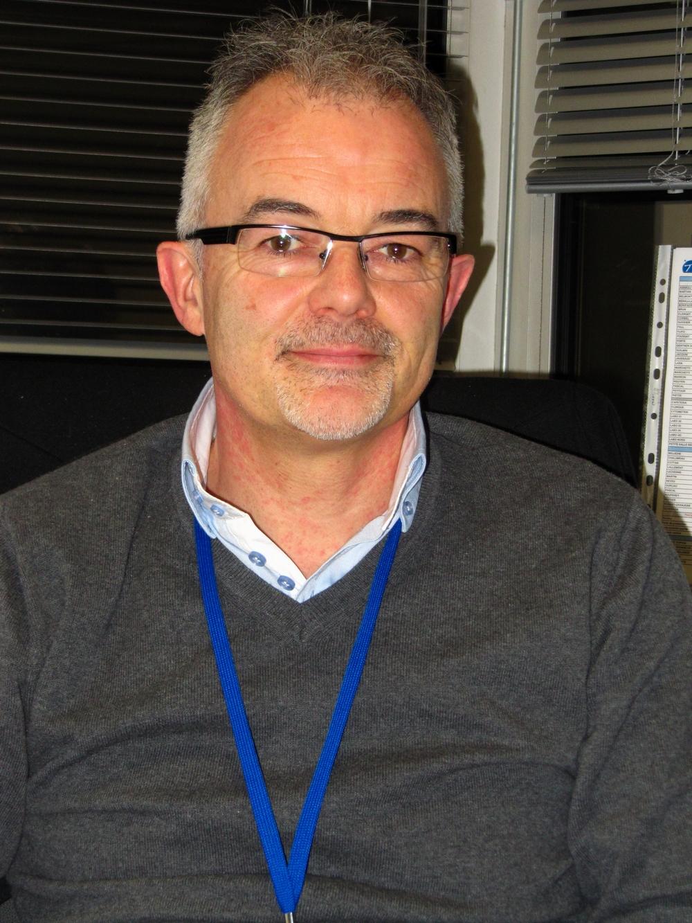 <b>Eric Pottier</b>, responsable du site de TxCelle de Besançon. - eric-pottier