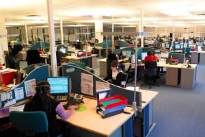 40 salariés au service relation clientèle.