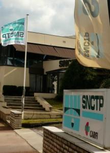 Le siège de la SNCTP, rue Dr Quignard à Dijon.