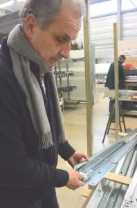 Jean-Pierre Spadone, dirigeant de Axone-Spadone à Delle.