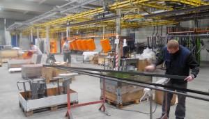 L'atelier d'Arc en Ciel Applications, l'une des deux sociétés avec Arc-en-Ciel Industrie.